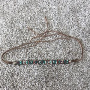 Urban outfitters Beaded Head Band